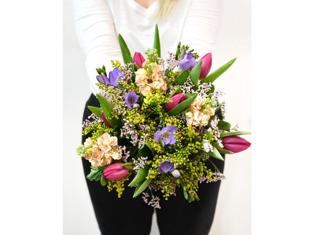 Kytice Lisa - Holandské květiny