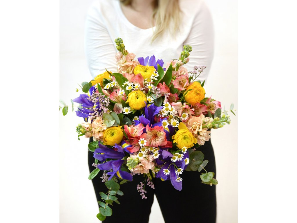 Kytice Rainbow - Holandské květiny