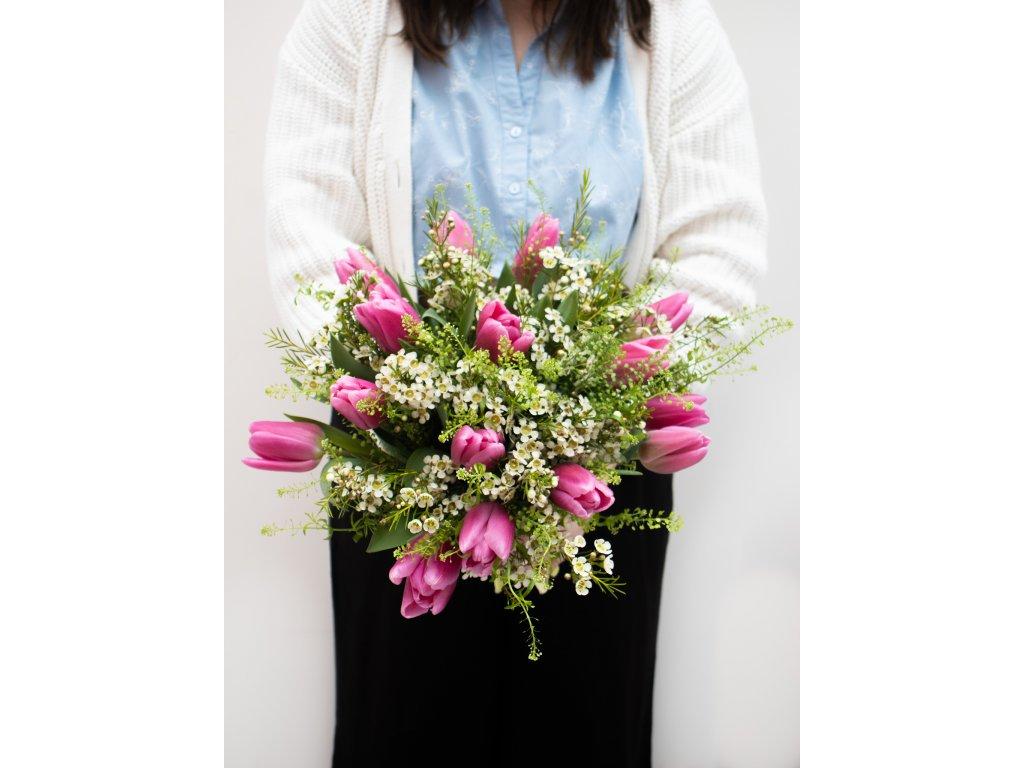 Kytice Rosé - Holandské květiny